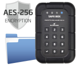 Bluestork Safe Box Encrypted USB 3.0