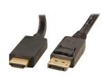 DisplayPort - HDMI kabelis