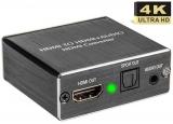 HDMI to HDMI+Audio Splitter