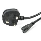 Strāvas kabelis UK 3 Pin